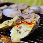 夏季に牡蠣を食う…