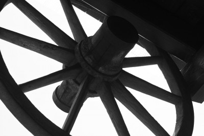 IMAGE: The wheel is come full circle. / The wheel has come [turned] full circle.