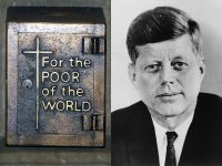 IMAGE: If a free society cannot help the many who are poor, it cannot save the few who are rich.