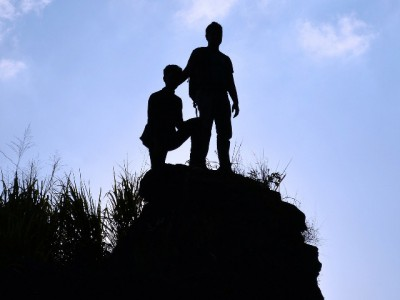IMAGE: Boys, be ambitious (for the attainment of all that a man ought to be)!