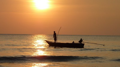 IMAGE: The charm of fishing is that it is the pursuit of what is elusive but attainable, a perpetual series of occasions for hope.