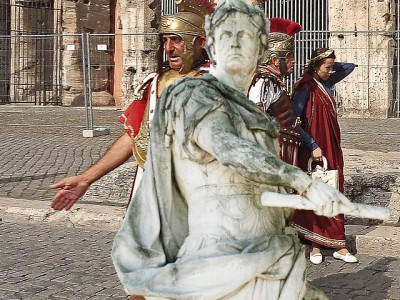 IMAGE: And thou, Brutus! [(La.) Et tu, Brute.]