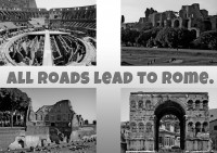 IMAGE: All roads lead to Rome.
