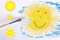 IMAGE: Some painters transform the sun into a yellow spot, others transform a yellow spot into the sun.