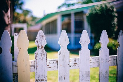 IMAGE: Good fences make good neighbors.