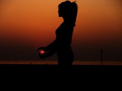 IMAGE: A sound mind in a sound body. [(In Latin) Orandum est, ut sit mens sana in corpore sano.]