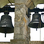 A bell is known by…
