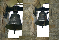 IMAGE: A bell is known by the sound.