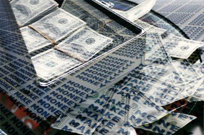 IMAGE: Money makes the money.