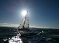 IMAGE: As the wind blows, you must set your sail.