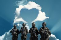 IMAGE: All is fair in love and war.