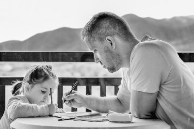IMAGE: One father is more than a hundred schoolmasters.