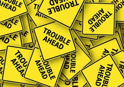 IMAGE: Don't meet trouble half-way.
