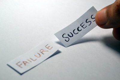 IMAGE: Failure teaches success.