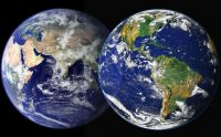 IMAGE: The world is round and the place which may seem like the end may also be the beginning.