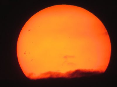 IMAGE: There are spots on the sun.