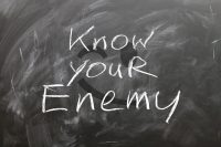 IMAGE: The wise learn many things from their enemies.