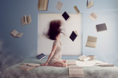 IMAGE: Reading is sometimes an ingenious device for avoiding thought.