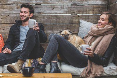 IMAGE: Like attracts like. / Like husband, like wife.
