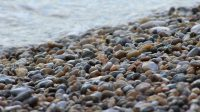 IMAGE: There are plenty of other pebbles on the beach. [There are plenty of other pebbles on the shore].