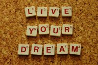 IMAGE: Don't dream a dream, live a dream and let reality sleep.