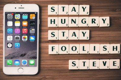 IMAGE: Stay hungry. Stay foolish.