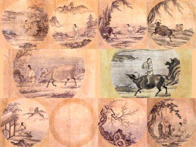 IMAGE: List of Ten Bulls [Ten Ox Herding Pictures]
