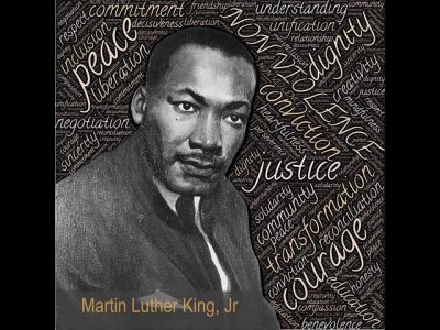 IMAGE: True peace is not merely the absence of tension: it is the presence of justice.