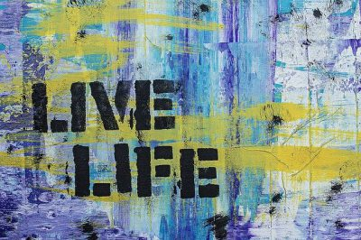 """IMAGE: I've learned that making a """"living"""" is not the same thing as making a """"life."""""""