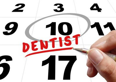 IMAGE: A dental checkup? Again?! Has it been six months already? I can't believe it! Dentists must have different calendars..