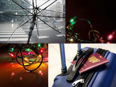IMAGE: I've learned that you can tell a lot about a person by the way he/she handles these three things: a rainy day, lost luggage, and tangled Christmas tree lights.