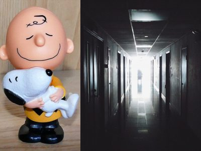 """IMAGE: Snoopy: """"What's going on?"""" / Charlie Brown: """"They're coming to get you for your arthroscopic surgery.. Don't be afraid..."""" """"In a few weeks you'll be as good as ever.."""" / Snoopy: """"In my whole life I've never been as good as ever!"""" //"""